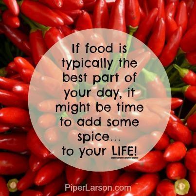 Red peppers + quote