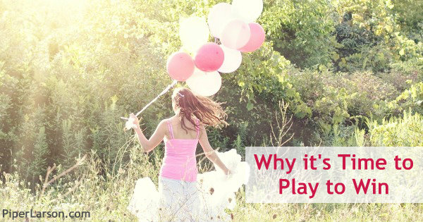 Why it's Time to Play to Win: http://piperlarson.com/joy-beyond-food/