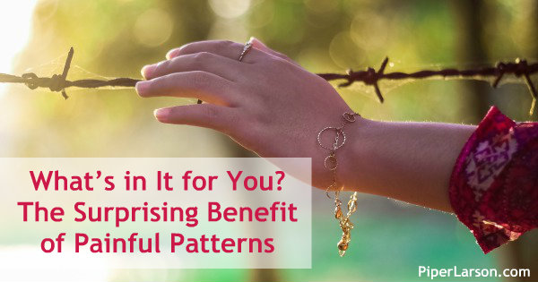 What's in It for You? The Surprising Benefit of Painful Patterns: http://piperlarson.com/benefit-of-patterns/